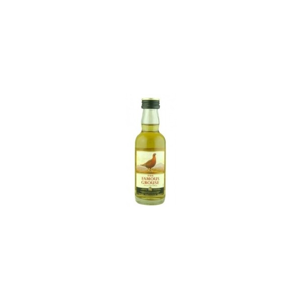 Whisky Famous Grouse - Botellita 5 Cl