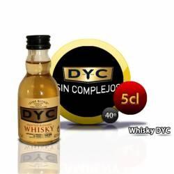 Botellita Miniatura Whisky Dyc  5 Cl