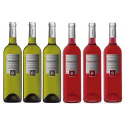 Pack 6 Vinos Blanco y Rosado Inurrieta