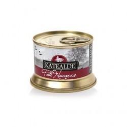Paté Navarro con pepitas de foie gras 130gr, 60% foie de Katealde
