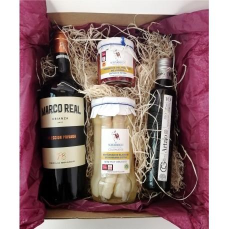 Lote delicias de Navarra