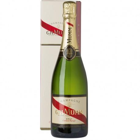 Champagne G.H. Mumm en estuche de Regalo