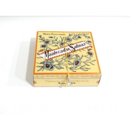 Mantecadas de salinas estuche de 160 grs - Trigo dulce tudela ...