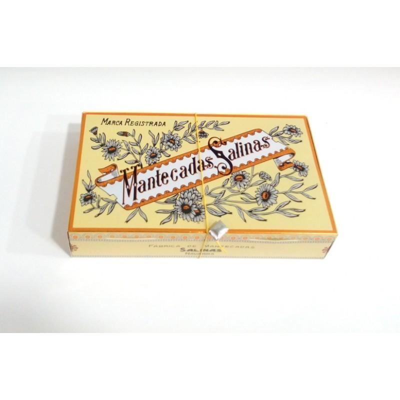 Mantecadas de salinas estuche de 270 grs - Trigo dulce tudela ...