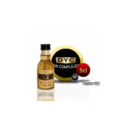 Botellita Miniatura Whisky Dyc  5 Cl