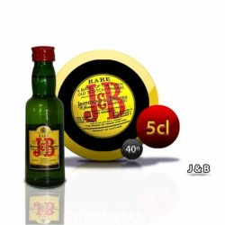 Botellita Miniatura Whisky Jb 5 Cl
