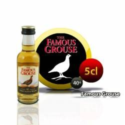 Botellita Miniatura Whisky Famous Grouse 5 Cl