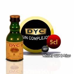 Botellita Miniatura Whisky Dyc 8 Años 5 Cl