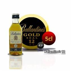 Botellita Whisky Ballantines 12 Años 5 Cl