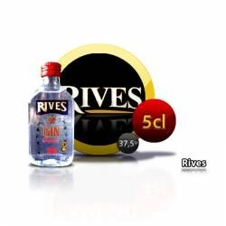 Botellita Miniatura Ginebra Rives 5 Cl