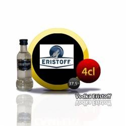 Botellita Miniatura Vodka Eristoff  4 Cl
