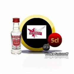 Botellita Miniatura Vodka Smirnoff 5 Cl