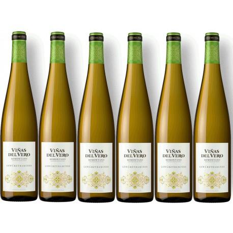 Caja 6 Botellas Viñas Vero Blanco Gewurztraminer