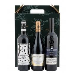Estuche 3 Botellas de Vino para Regalo